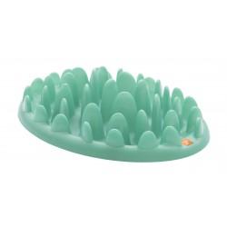 Green - stor fodertallerken til barf eller tørkost - lys grøn