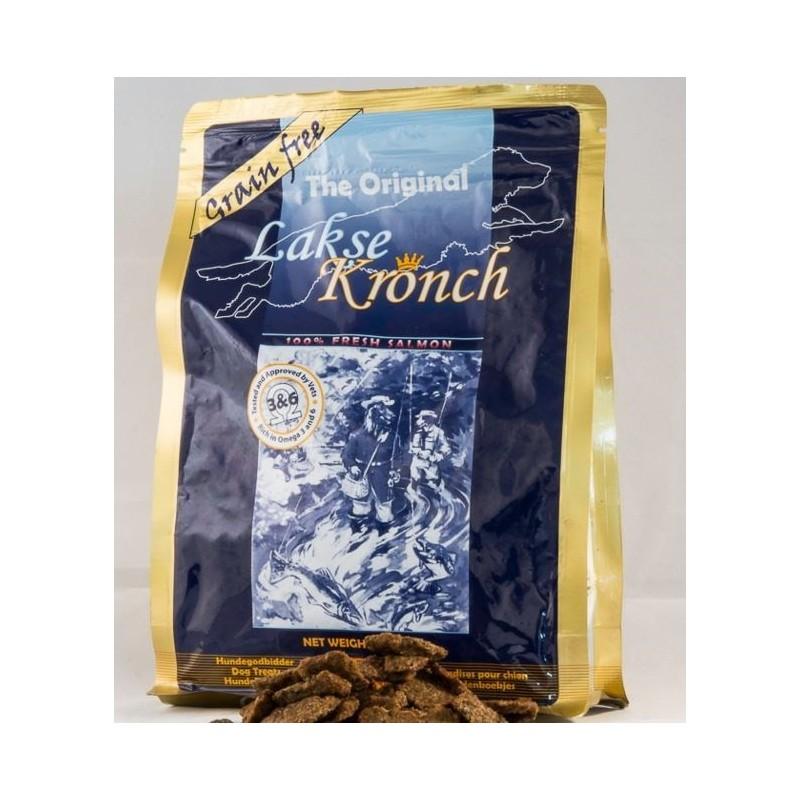 Lakseguffer - lakse krønch - 600 g