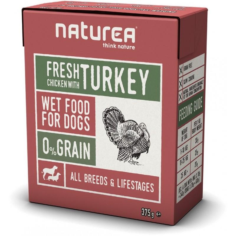 BARF vådkost - Chicken with turkey - 375 g.