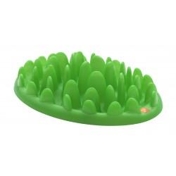 Green - stor fodertallerken til barf eller tørkost - grøn